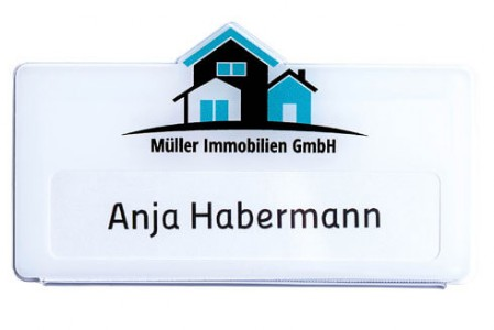 Acryl Namensschild - 1mm - DUO Produktion