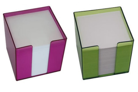 Notizzettelbox transparent - DUO Produktion
